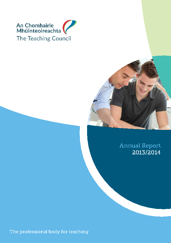 Annual Report 2013-2014 front page preview