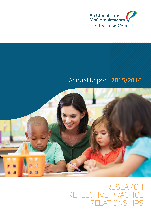 Annual Report 2015-2016 front page preview
