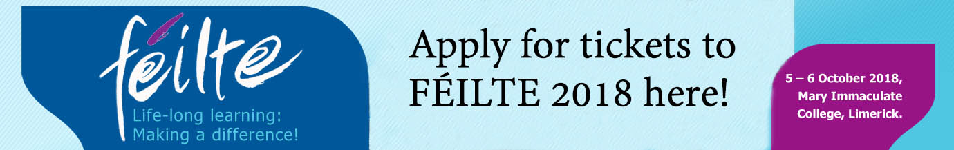 Tickets available for FÉILTE 2018!