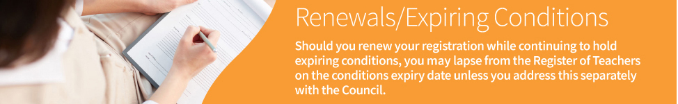 Renewals & Conditions