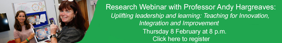 Research Webinar with Professor Andy Hargreaves