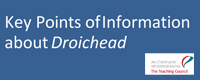 Droichead 10 Key Points